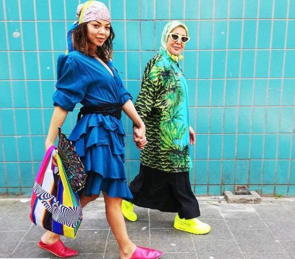 thời trang,mẹ và con gái,bệnh nhân ung thư,fashionista