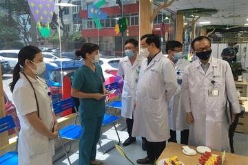 Bệnh viện Nhi Trung ương giảm nửa số bệnh nhân để phòng, chống dịch