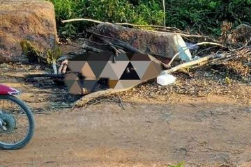 Hà Tĩnh: Phát hiện thi thể người đàn ông chết cháy cạnh nghĩa trang