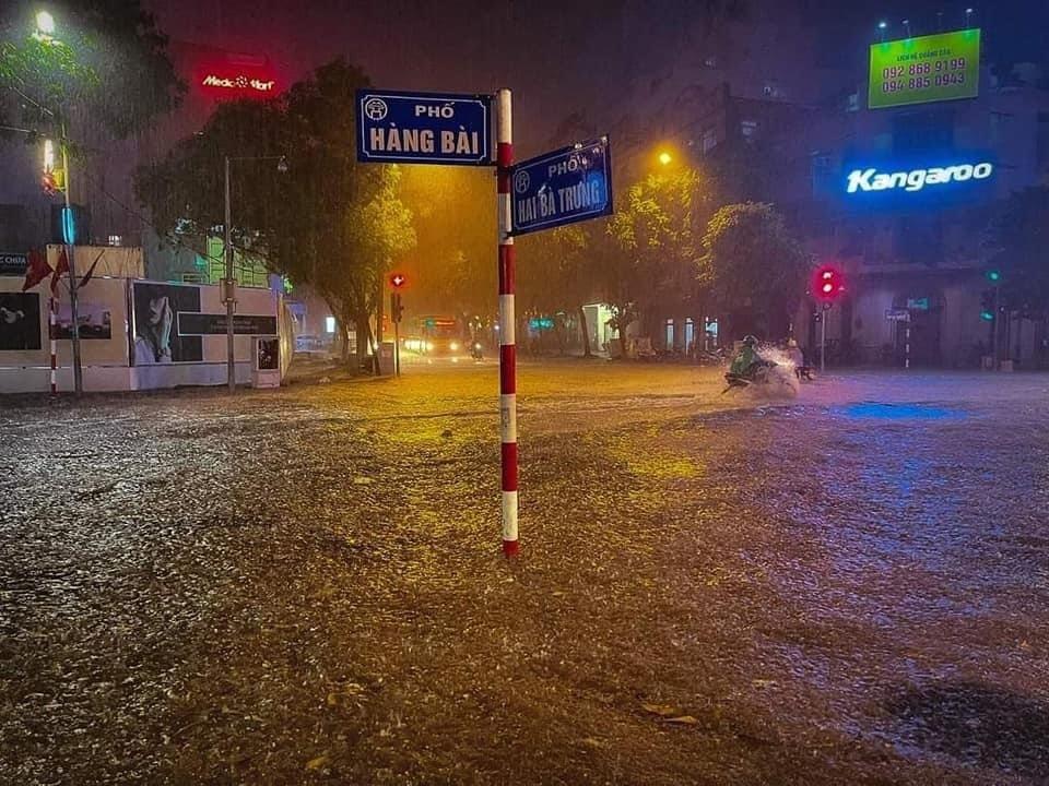 hà nội ngập,đường vành đai 3,mưa dông