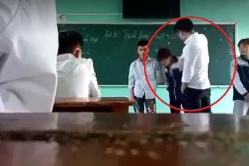 Vụ thầy giáo Bắc Giang đánh học sinh trên lớp: Xử lý vi phạm đạo đức giáo viên