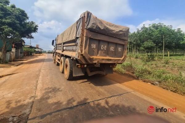 Đắk Lắk,bụi mù mịt,hư hỏng,xe quá tải,xe đá,ô nhiễm môi trường,ô nhiễm tiếng ồn