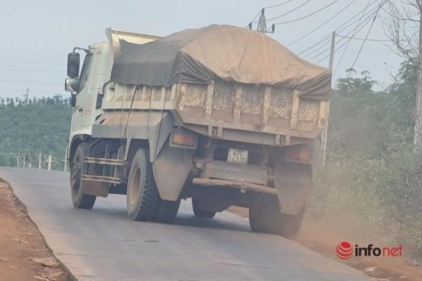 Đắk Lắk: Kiên quyết xử lý xe quá tải tại mỏ đá Phục Hưng