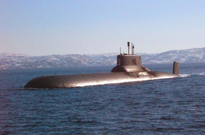 Tàu ngầm,Nga