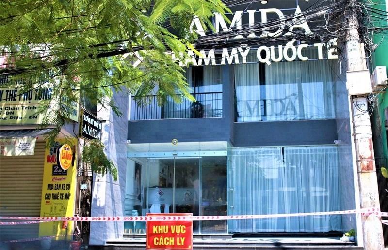 Đà Nẵng: Khởi tố vụ án 'lây lan dịch Covid-19' tại thẩm mỹ viện Amida