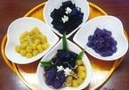 Món ăn mùa hè: Chè khoai dẻo 2 màu kiểu Đài Loan ngon ngọt khó cưỡng