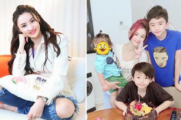 """""""Người đẹp không tuổi"""" Trương Bá Chi nuôi dạy 3 con trai thế này bảo sao cô vẫn muốn đẻ thêm"""