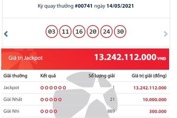 Lại trúng Jackpot hơn 13 tỷ đồng, một người ở Trà Vinh trở thành tỷ phú Vietlott