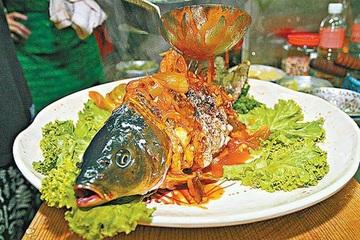 """Cá âm dương nửa sống, nửa chết khiến thực khách """"sởn da gà"""""""