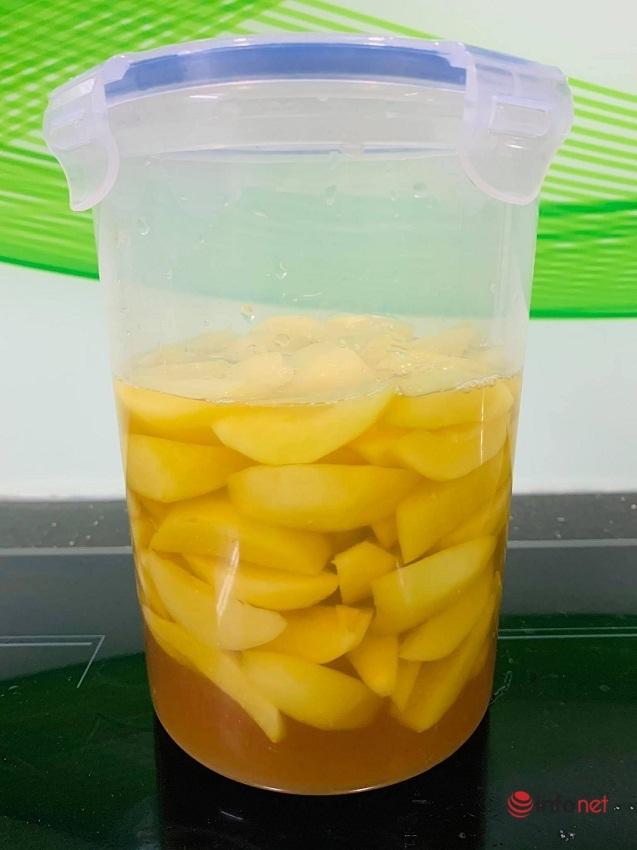 Đồ uống mùa hè: Cách làm trà đào cam sả thơm mát tuyệt vời