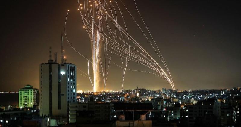 Israel,Palestine,Iron Dome,tên lửa Kazan