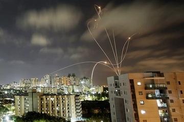 Israel công bố 'sốc' về số lượng rocket được bắn từ Dải Gaza
