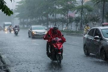 Bắc Bộ mưa dông diện rộng, nhiều nơi mưa rất to