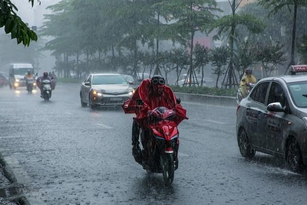 Mưa lớn diện rộng, nhiều nơi mưa rất to, đề phòng lốc sét