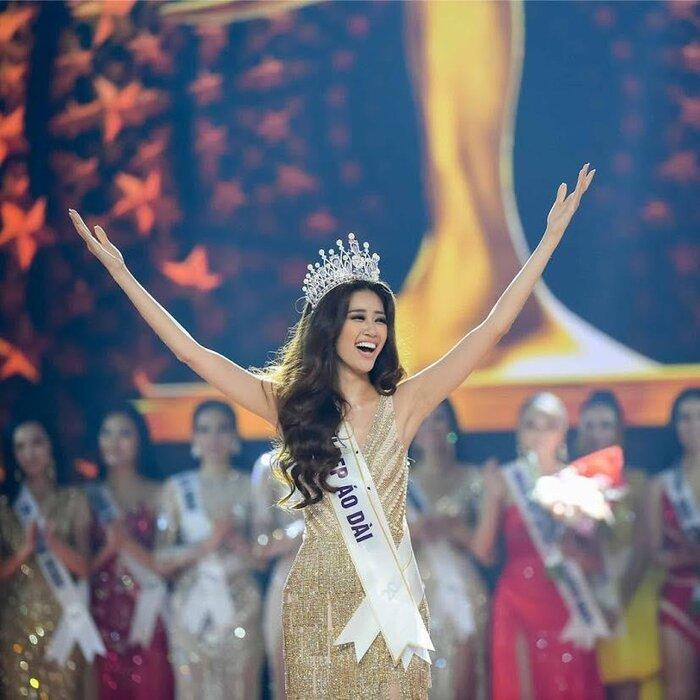 Lịch sử 'chinh chiến' trên đấu trường sắc đẹp của Khánh Vân trước khi dừng chân Top 21 Miss Universe