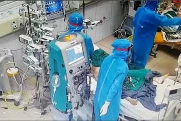 52 bệnh nhân nặng, nguy kịch đang điều trị tại BV Bệnh Nhiệt đới Trung ương cơ sở Kim Chung