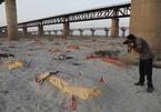Ẩn họa từ hàng trăm thi thể nằm dọc bờ sông Hằng ở Ấn Độ