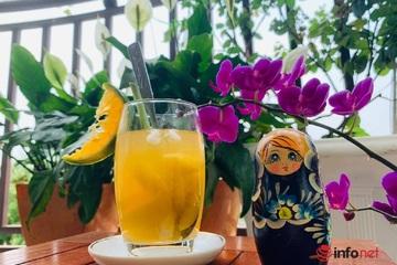 Cách làm trà đào cam sả thơm mát ngày hè