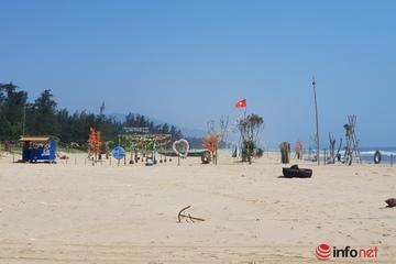 Hà Tĩnh: Bãi biển 'quây' cho thuê kinh doanh, ngư dân mất bãi neo đậu
