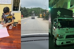 Xe tải cản đường xe cứu thương 7km: Tài xế bị tước bằng lái 2 tháng, phạt 4 triệu đồng