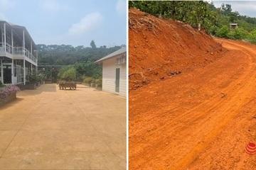 Vụ tự ý mở đường, dựng nhà vườn trái phép trên hồ thủy điện: Bí thư tỉnh ủy Đắk Nông vẫn 'chưa nhận báo cáo'