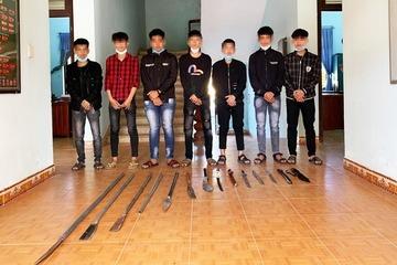 Quảng Nam: Truy bắt nhóm thanh niên mang hung khí đi gây rối, chém người