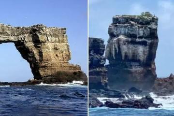 Vòm đá nổi tiếng mê hoặc du khách bậc nhất thế giới Darwin's Arch đã sụp đổ