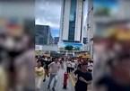 Hàng ngàn người tháo chạy khi tòa tháp 79 tầng rung lắc ở Trung Quốc