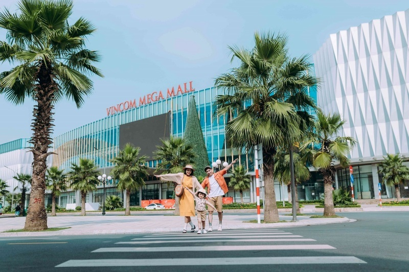 Vincom Mega Mall Ocean Park,Đại đô thị tiện ích,khu đô thị Vinhomes