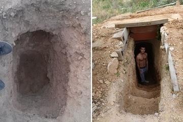 Cãi nhau với mẹ, chàng trai đào hầm dưới lòng đất để 'xả hơi'