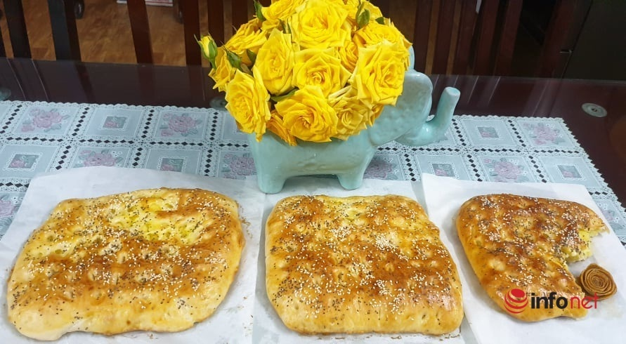 Cách làm bánh mì pita khoai tây thơm ngon mềm mịn