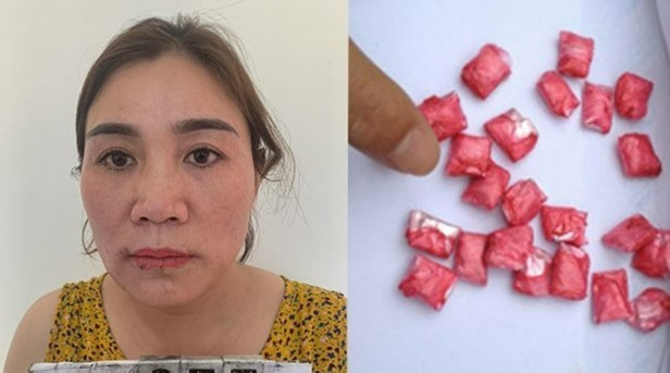 """""""Nữ quái"""" nuốt chửng 47 viên ma túy tổng hợp vào bụng khi bị bắt"""
