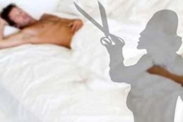 Vợ cầm kéo cắt đứt 'của quý' lúc chồng đang ngủ