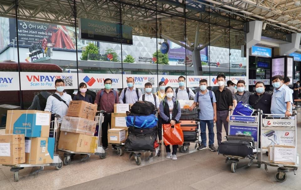 Bắc Giang bình tĩnh, an tâm: Chợ Rẫy lên đường hỗ trợ