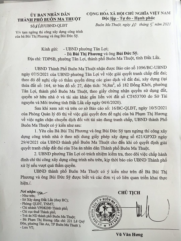 Đắk Lắk,TP.Buôn Ma Thuột,Tranh chấp