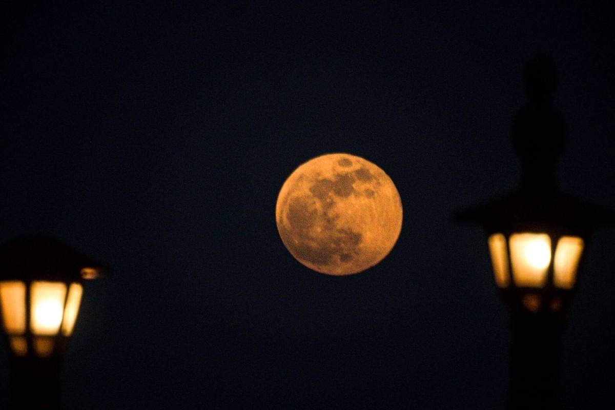 siêu trăng,nguyệt thực toàn phần