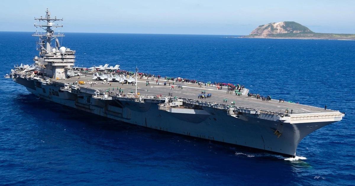 tàu sân bay,hải quân mỹ,quân đội mỹ,joe biden