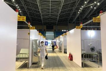 Bắc Giang gấp rút xây dựng hai bệnh viện dã chiến