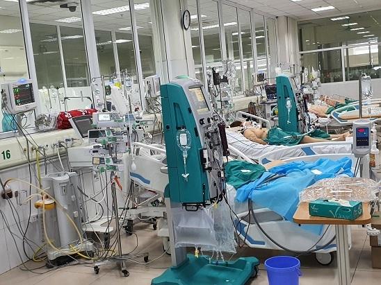 Bệnh nhân Covid-19 tử vong có tiền sử áp xe gan