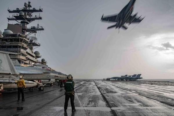 tàu sân bay,hải quân mỹ,quân đội trung quốc,biển đông,joe biden