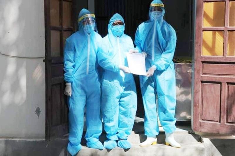 Bệnh nhân mắc Covid-19 trong cộng đồng đầu tiên ở Nghệ An được xuất viện