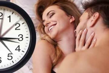 'Chuyện ấy' mấy phút mới là lý tưởng?