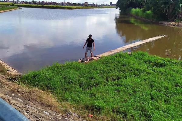 Nam thanh niên đi câu cá một mình tử vong thương tâm