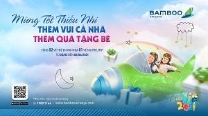 Cùng con trải nghiệm thế giới muôn màu với ưu đãi mua 1 tặng 2 của Bamboo Airways dịp 1/6