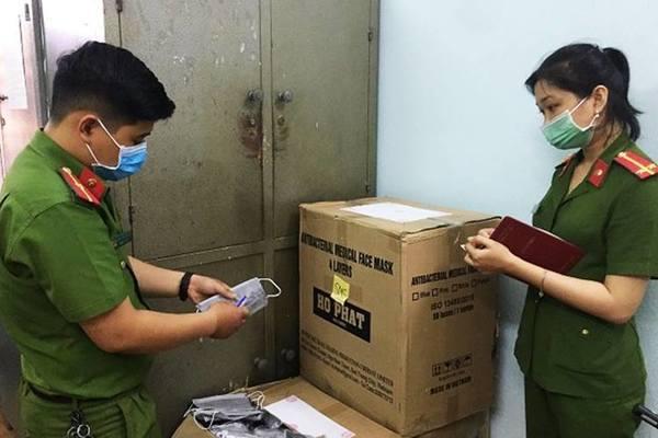Quảng Nam: Tiêu hủy 10.000 khẩu trang không rõ nguồn gốc