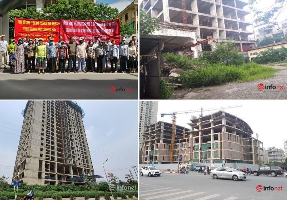 Người mua nhà mong Hà Nội mạnh tay xử lý thêm nhiều dự án 'đắp chiếu' cả chục năm, không có nhà để ở
