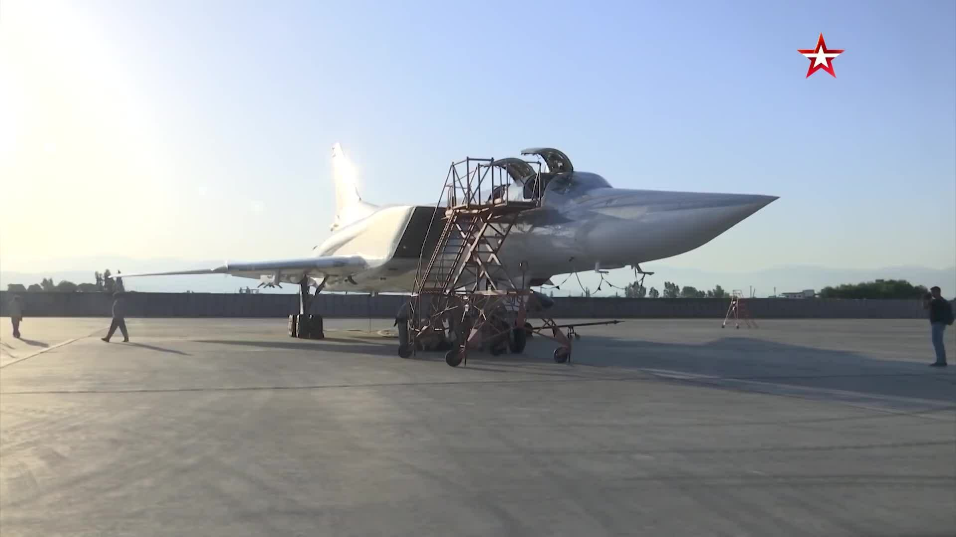 Nga,Syria,NATO,máy bay ném bom Tu-22M3