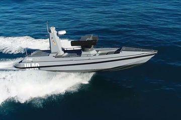 Thổ Nhĩ Kỳ trình làng tàu chiến mặt nước không người lái siêu khủng