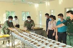 Hưng Yên kiểm tra, giám sát ATTP tại các bếp ăn phục vụ khu cách ly tập trung