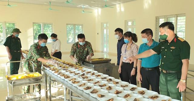 Lào Cai: Triển khai nhiều hoạt động đảm bảo ATTP tại các khu cách ly tập trung